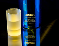 """Just Blue"" – ABSOLUT. Wodka"