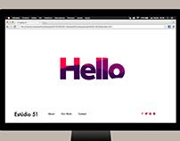 Estúdio 51 Website