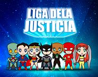 Liga Dela Justicia Chibi