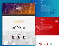 Project X - Team website design.