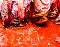Transgenders celebrating Holi | Nandgaon,Mathura.