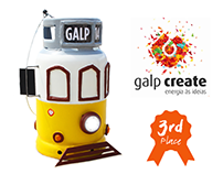 Yellow Tram // 3rd Place @ Galp Create 2014 Contest