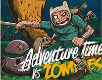 Adventure Time vs Zombies