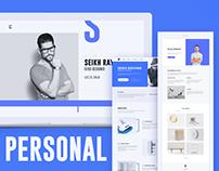 Personal Website ( 3 Concept )