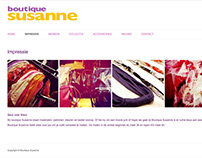Boutique Susanne website