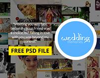 Wedding Album Templates Free psd