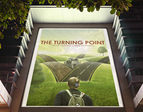 THE TURNING POINT- PHOTO MANIPULATION POSTER