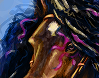 Spirit Horse Speedpaint