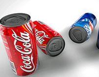 Modelado y animación soda