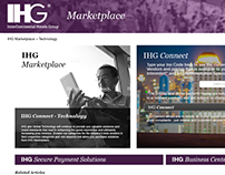 IHG Marketplace Homepage (Potential) Wireframe