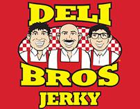 Deli Bros Jerky - Logo / Branding