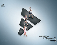 ADIDAS - running got better