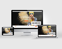 CSV App Landing Page PSD Template Themeforest
