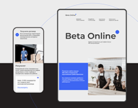 Beta Online digital branding