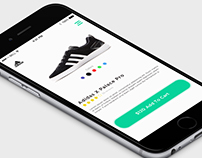 Shopping Card App Design