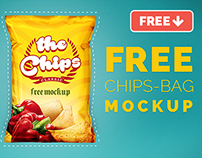 Chips Bag Free Mock-up