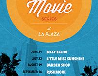 Zócalo Summer Movie Series Marketing Materials