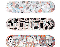 Hall 13 Skateboards