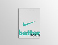 Better For It - Nike 2016 Sustainability Report