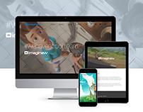 Imaginew - Reprodução de Website