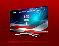 WORLD BASKETBALL CHAMPIONSHIP WOMEN | BROADCAST GRAPHIC