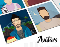 Team Avatars illustration