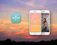 StyleCast - Forecast+Styling app