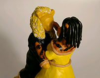 Sculpey Beauty and the Beast