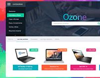 Ozone - A New Concept of E-commerce