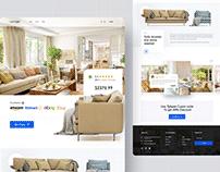 Lounge Sofa Landing Page
