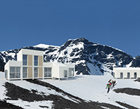 Iceland Trekking Cabins Competition
