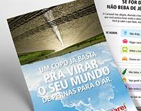 Bebida e direção - Folheto