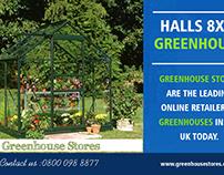 Halls 8x6 Greenhouse | 800 098 8877 | greenhousestores.