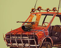 Concept cars (Mad Max Style)