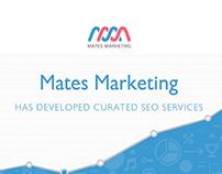 Mates Marketing website design