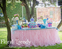 "Candy Table ""Blue Dream"" - Boadilla Madrid"