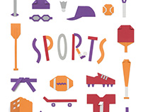 SPORTS, ROOM and STUDY