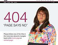 Daily UI #008 - BBC 404 page