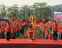 McDonald's Cheer for China campaign for 2008 Olympic