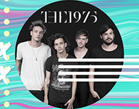 Twitter cover photo- THE1975
