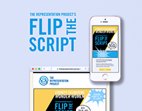 The Representation Project's Flip the Script Benefit