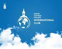 Mount Aloysius College International Club logo