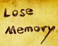 Experimental Animation: Lose Memory
