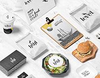 Level Restaurant | Branding