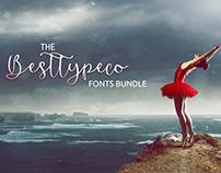 The BestTypeCo Fonts Bundle: 81 Exclusive Fonts