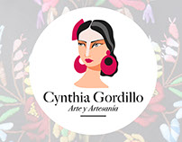 Logotipo Cynthia Gordillo