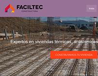 Desarrollo web de Faciltec