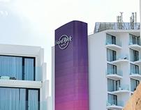 Decoración Fachada Hard Rock Hotel Ibiza