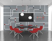 RAM Tubulars - Illustrated Wall Art (Nexus24 LTD)