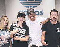 Lollapalooza & Adidas Original's Press Day